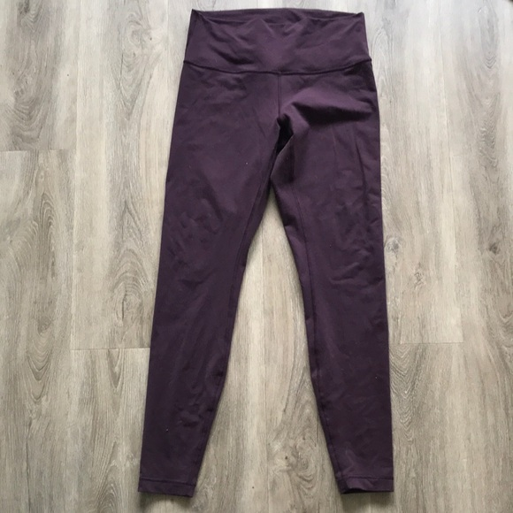 Purple Wunder Unders Sz 10/12 -small hole pictured